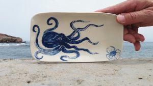 Sushiplatte Octopus